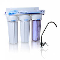 Проточный фильтр для воды Aqualine MF3