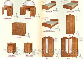 Кровать 160 Гера 830х1630х2035мм  160х200 Пехотин, фото 3