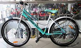"""Городской велосипед Kinetic Magnolia ALU 26 дюймов рама 17"""", рост 160-175 см., цвет бирюзовый"""