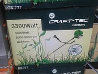 Бензокоса Craft-tec GS-777 (3300 Вт) 3 ножа 2 котушки, фото 1