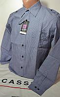 Приталенная рубашка CLIMMER (размеры M,L,XL,XXL,XXXL), фото 1