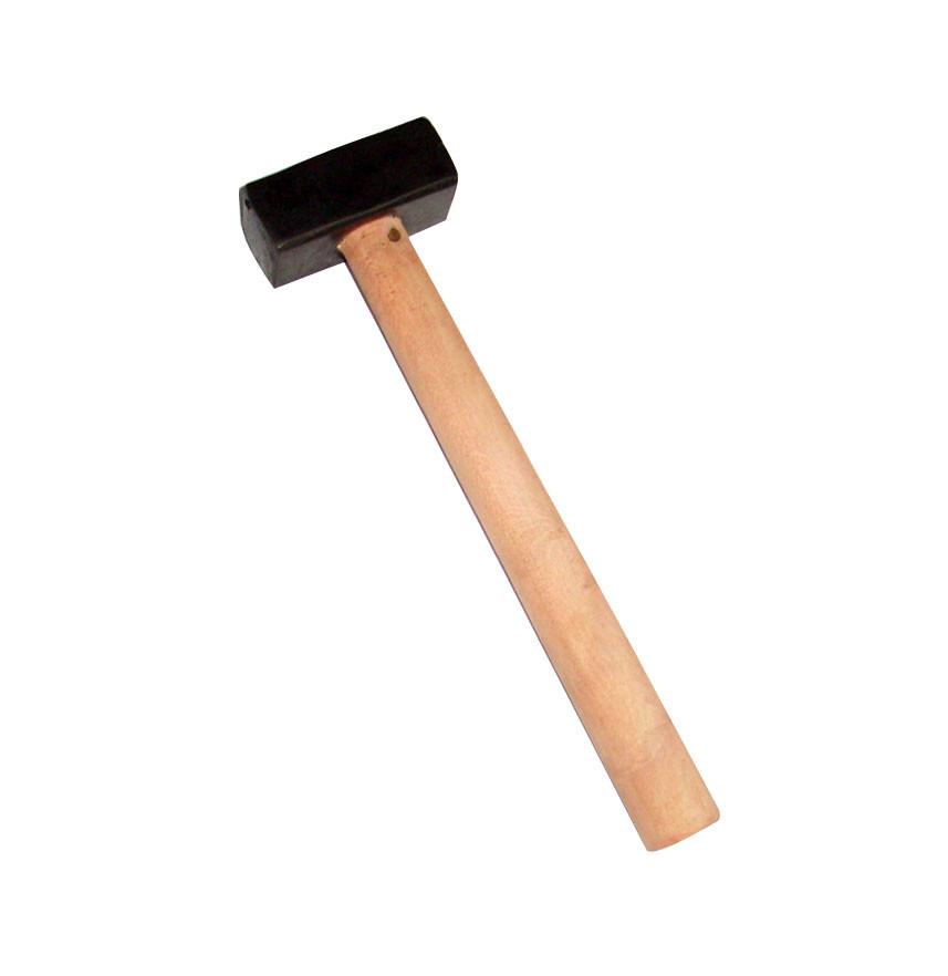 Кувалда строительная 6 кг с деревянной ручкой