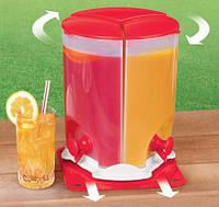Диспенсер для напитков из трех отсеков Drink Dispenser