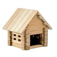 Деревянный конструктор домик для детей (39 деталей Игротеко)