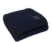 Fulham Knit Blanket від Casual Avenue (Eke Home) в'язаний плед 230х240 DEEP BLUE, фото 1