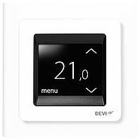 Терморегулятор электронный DEVIreg Touch с сенсорным дисплеем