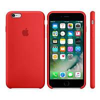 Силиконовый чехол Apple / Original Apple iPhone 6S Silicone case (PRODUCT) RED (MKY32) Красный, фото 1