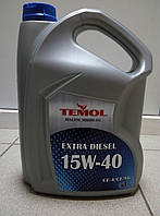 Масло моторное 15W-40 5л TEMOL