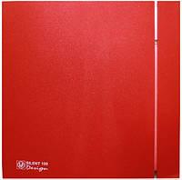 Вентилятор Soler&Palau SILENT-100 CZ RED DESIGN -4C