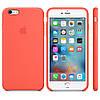 Силиконовый чехол Apple / Original Apple iPhone 6S Silicone case Apricot (MM642) Абрикосовый