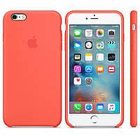 Силиконовый чехол Apple / Original Apple iPhone 6S Silicone case Apricot (MM642) Абрикосовый, фото 1