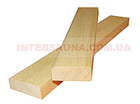 Планка Липа 1/Сорт Первый Сорт 35х14, длина: 1,0 - 3,1