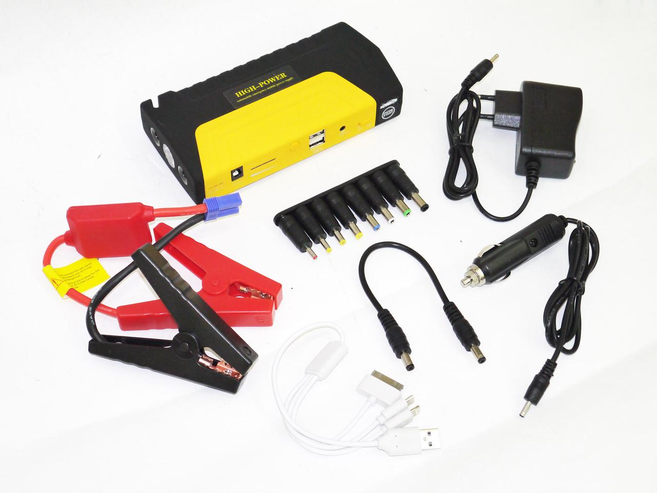 Car jump starter 16800mAh Power Bank зарядно пусковое устройство для машины 2хUSB+Фонарик