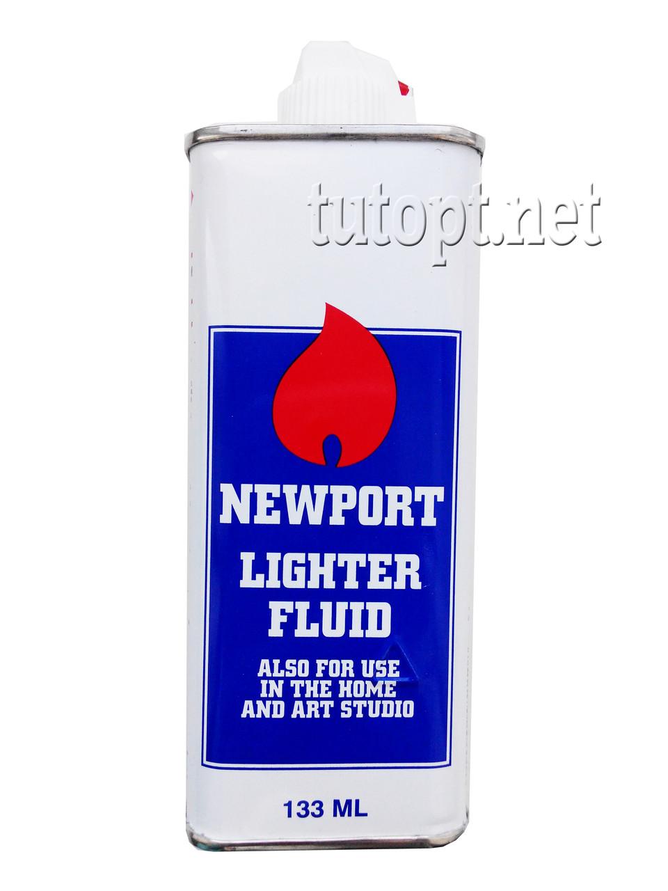 """Бензин """"Newport"""" для заправки зажигалок очищенный, объём: 133 мл"""