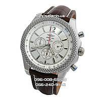 Часы Breitling for Bentley Quartz brown/silver. Класс: AAA