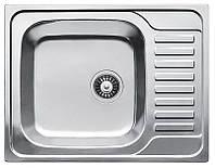 Germece Кухонная стальная мойка Germece 65 х 50 микродекор