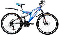 Велосипед горный Titan Panther 26 дюймов, Титан Пантер двухподвес, фото 1