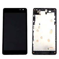 Дисплейный модуль Nokia Lumia 535 Black
