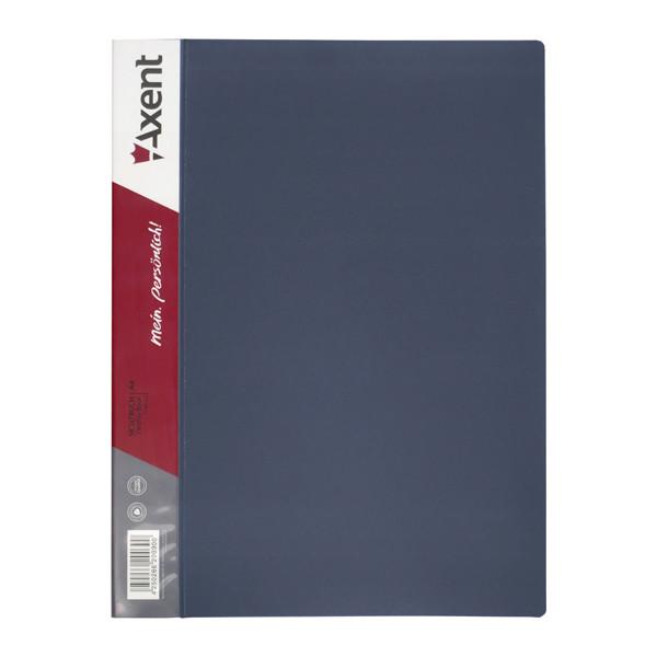 1060-03-А Дисплей-книга 60 файлів, сіра