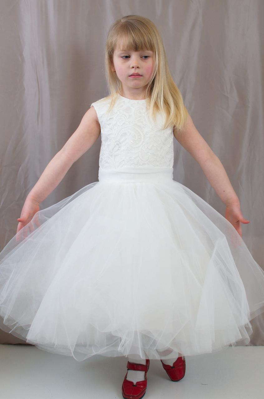 купить девочки красивое платье пышное