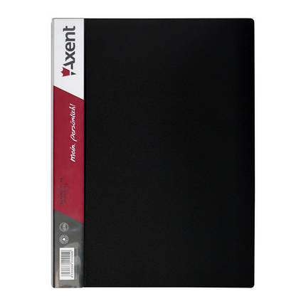 1060-01-А Дисплей-книга 60 файлів, чорна, фото 2