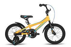 """Велосипед 16"""" PRIDE ARTHUR оранжевый матовый 2016"""