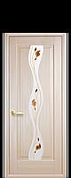 """Двери межкомнатные """"Новый Стиль Волна"""" рисунок 1 ясень"""