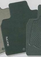 Ковры велюровые комплект nissan note 2006- (производство NISSAN ), код запчасти: KE7459U011