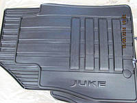 Ковры резиновые комплект nissan juke uk make (f15e) 2010- (производство NISSAN ), код запчасти: KE7481K089
