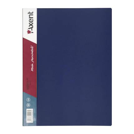 1080-02-А Дисплей-книга 80 файлів, синя, фото 2