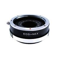 Адаптер переходник Canon EOS - Sony NEX, апертура