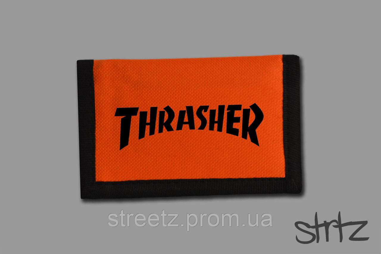 Кошелек Thrasher Textile Wallet