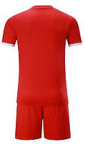 Футбольная форма Europaw 014 красно-белая, фото 3