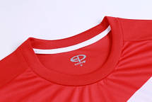 Футбольная форма Europaw 014 красно-белая, фото 2