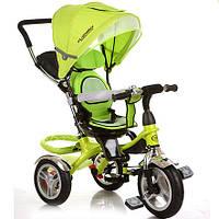 Трехколесный велосипед Turbo Trike M 3114-4A, Зеленый