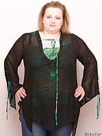 337d86c3db4e Блузы больших размеров в Украине. Сравнить цены, купить ...