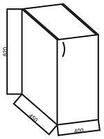 Нижние модули к кухне «Ваниль», 40Н