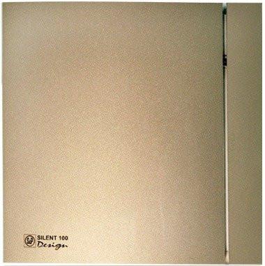 Вентилятор Soler&Palau SILENT-200 CZ CHAMPAGNE DESIGN - 4C