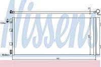 Радиатор кондиционера nissan nv 400 (m20), opel movano b (10-) (производство Nissens ), код запчасти: 940158