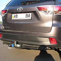 Фаркоп на Toyota Highlander (c 2014--) Тойота Хайлендер