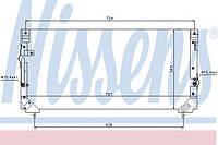 Радиатор кондиционера toyota land cruiser 80 (94-) 4.0 i (+) (производство Nissens ), код запчасти: 94184
