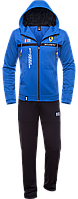 Спортивный костюм с капюшоном Bikk - 387H электрик-синий
