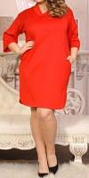 """ПП Украина Платье большого размера """"Креш"""", платье от 48 по 72 размеры"""