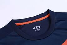 Футбольная форма Europaw 014 т.сине-оранжевая , фото 2