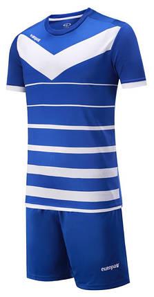 Футбольная форма Europaw 014 сине-белая, фото 2