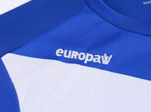 Футбольная форма Europaw 014 сине-белая, фото 3