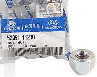 Гайка колесная литой диск (производство Hyundai-KIA ), код запчасти: 5295111210