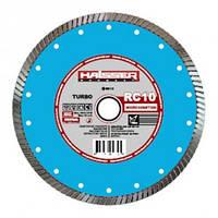 Отрезной диск по железобетону Haisser RC10 115мм 22.2мм Turbo