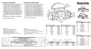 Трюмо -2 Гера 1330х1160х380мм   Пехотин, фото 2
