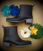 Резиновые ботинки Имидж ЧЕРНЫЙ
